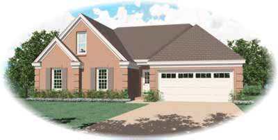 Traditional Style House Plans Plan: 6-332
