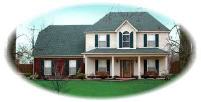 Country Style Home Design Plan: 6-337