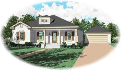 Southern Style Floor Plans Plan: 6-339