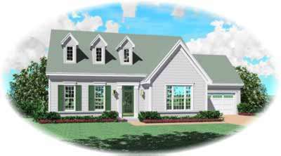 Country Style House Plans Plan: 6-342