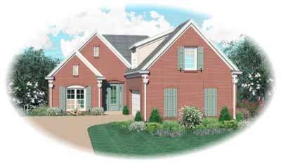 Southern Style Floor Plans Plan: 6-347