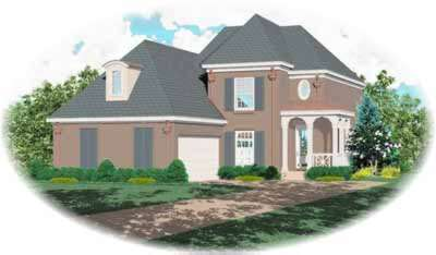 European Style House Plans Plan: 6-355