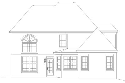 Rear Elevation Plan: 6-356