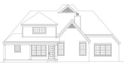 Rear Elevation Plan: 6-362