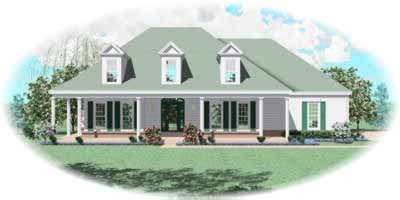 Southern Style House Plans Plan: 6-400