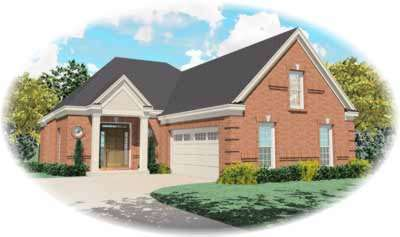 Traditional Style Floor Plans Plan: 6-402