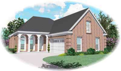 Southern Style House Plans Plan: 6-403