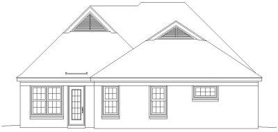Rear Elevations Plan:6-414