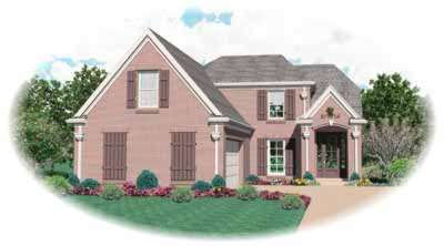 Traditional Style Home Design Plan: 6-427