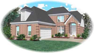Traditional Style House Plans Plan: 6-428