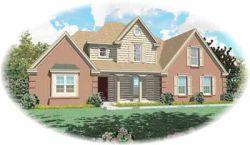 Farm Style Home Design Plan: 6-440