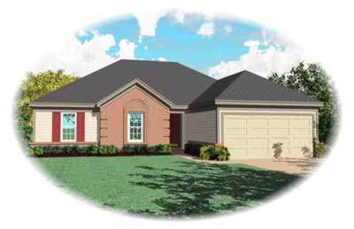 Traditional Style House Plans Plan: 6-463