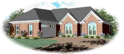 Traditional Style House Plans Plan: 6-471