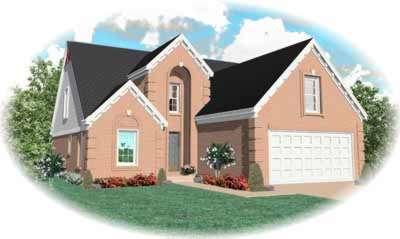 European Style House Plans Plan: 6-473