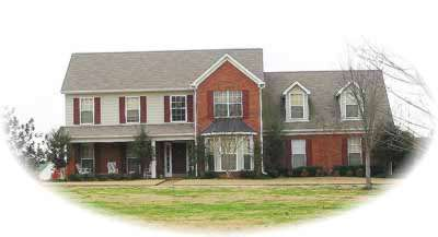 Country Style Home Design Plan: 6-474