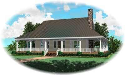 Farm Style House Plans Plan: 6-483