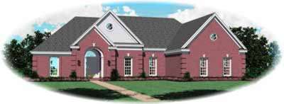 Traditional Style House Plans Plan: 6-491