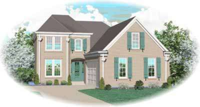 Southern Style Floor Plans Plan: 6-495