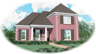 Traditional Style House Plans Plan: 6-502