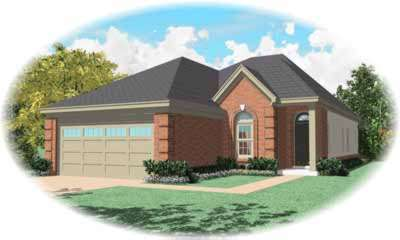Traditional Style House Plans Plan: 6-507