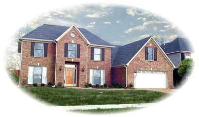 Traditional Style Home Design Plan: 6-519