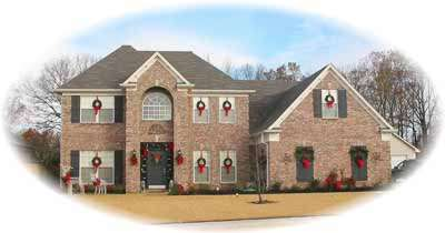 Traditional Style Home Design Plan: 6-526