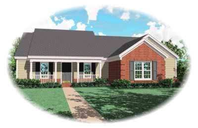 Traditional Style Floor Plans Plan: 6-538