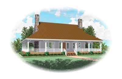 Farm Style Floor Plans Plan: 6-539