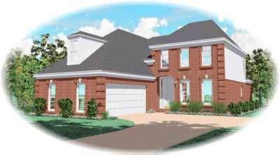 European Style House Plans Plan: 6-549