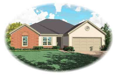 Traditional Style Home Design Plan: 6-550