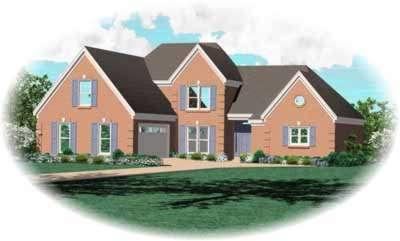 European Style House Plans Plan: 6-574