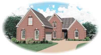 European Style House Plans Plan: 6-578