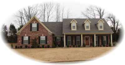 Farm Style Home Design Plan: 6-589