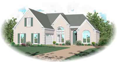Mediterranean Style House Plans Plan: 6-590