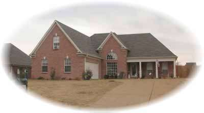 Southern Style Home Design Plan: 6-600