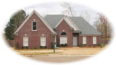 Traditional Style Home Design Plan: 6-602