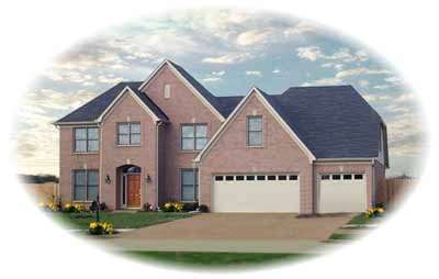 Traditional Style Home Design Plan: 6-611