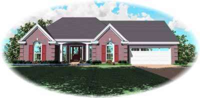 Southern Style Floor Plans Plan: 6-619