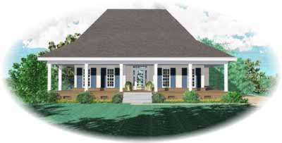 Southern Style Floor Plans Plan: 6-628