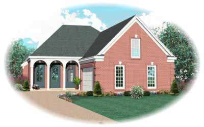 Southern Style Floor Plans Plan: 6-641