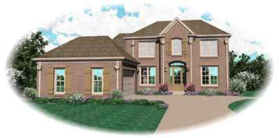 Traditional Style Floor Plans Plan: 6-645
