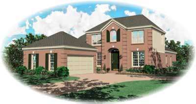 Traditional Style Floor Plans 6-646