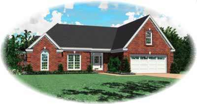 Traditional Style House Plans Plan: 6-647