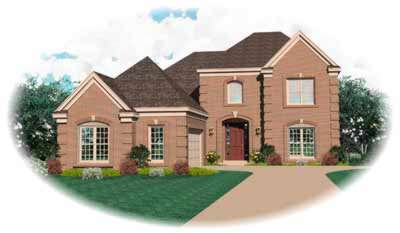 Traditional Style Home Design Plan: 6-652