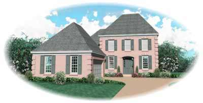European Style House Plans Plan: 6-655