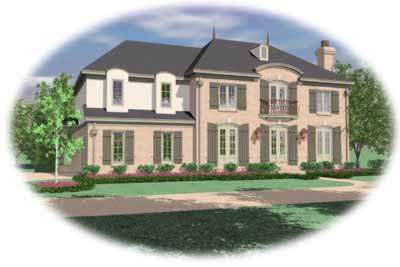 European Style Floor Plans 6-656