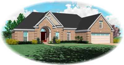 Traditional Style Floor Plans Plan: 6-658