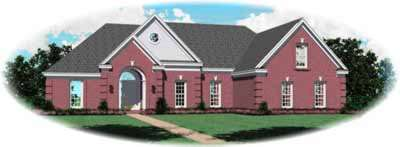 Southern Style Floor Plans Plan: 6-663