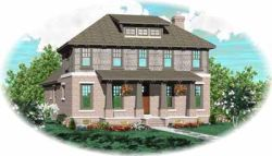 Bungalow Style Home Design Plan: 6-668