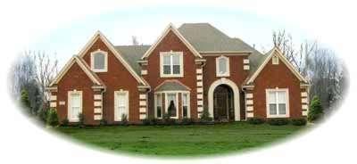 European Style Home Design Plan: 6-680